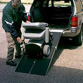 UTW PVI Aluminum Multi-Fold Rear Door Wheelchair Van Ramp 2