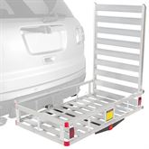 WCC-500A-U Apex Aluminum Basket Cargo Carrier with Ramp