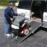 WCR PVI Multi-Fold Wheelchair Ramp 4