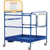 WP-3636-CA Vestil Work Platform with Casters - 36 W x 36 L