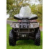 Overall dimensions of the ATV Windshield