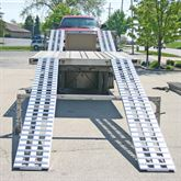 Super lightweight extra wide dropdeck ramps will save strain on your back and pr