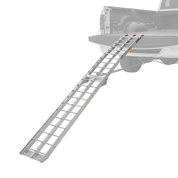 Aluminum Folding Arched Single Runner Motorcycle Ramp