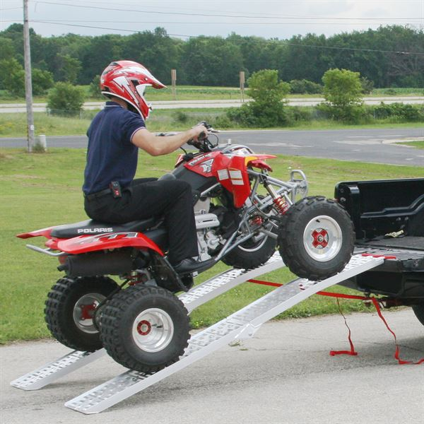 Atv Truck Ramps >> Details About Black Widow Afp 9012 2 Dual Runner Atv Ramp Finger Style Lip Plate Surface