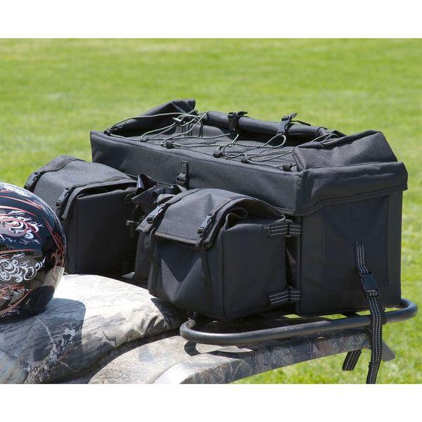 Atv Rbg 9030 Bk Black Cargo Rear Rack Gear Bag 1