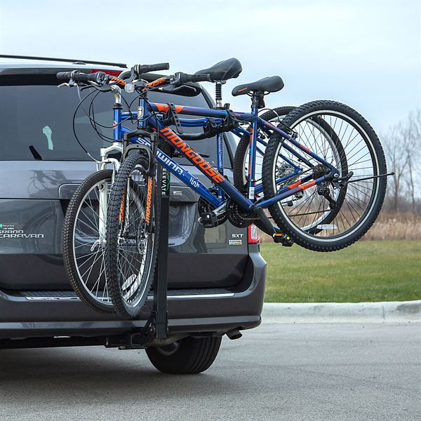Elevate Outdoor Hitch-Mounted Bike Rack