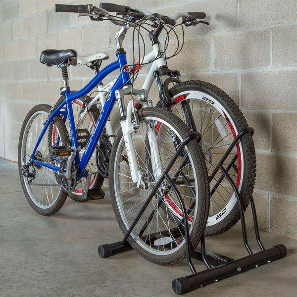 Apex Br 323 Indoor Bicycle Floor Stand Fits 2 Bikes 813709015240