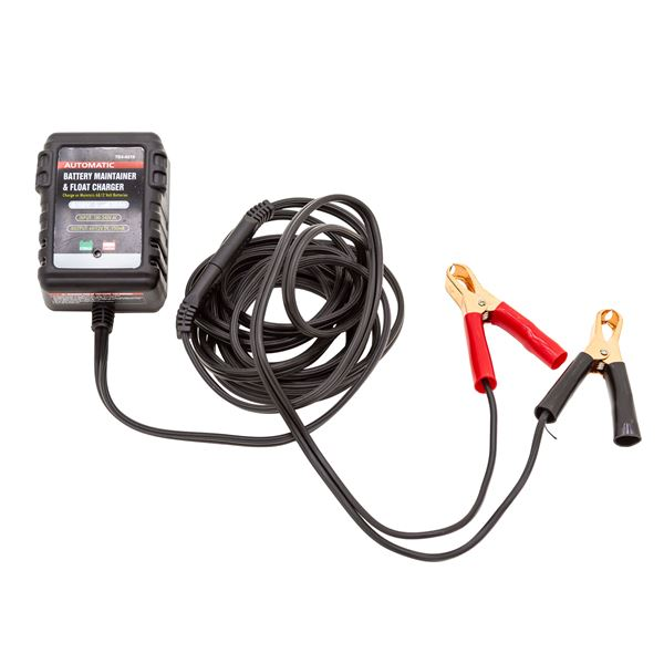 Black Widow Battery Trickle Charger for Lead Acid