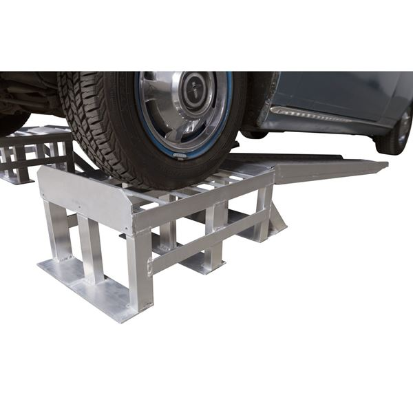 Two piece car ramps aqualisa 110 shower