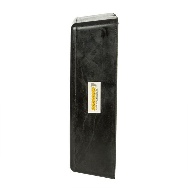 guardian 4 deep molded rubber dock bumper discount ramps. Black Bedroom Furniture Sets. Home Design Ideas