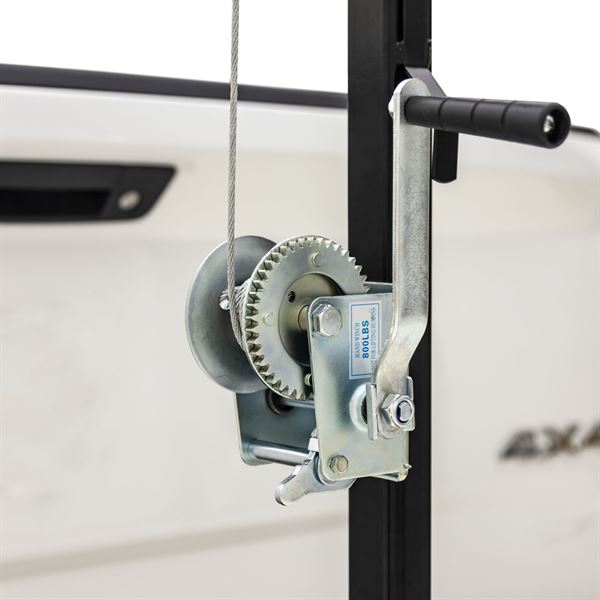 Trailer Hitch Classes >> Kill Shot 300 lb. Capacity Hitch-Mounted Deer Hoist with Gambrel | Discount Ramps