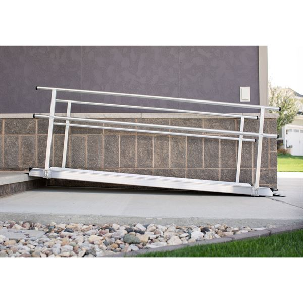 EZ-Access Gateway Aluminum Wheelchair Access Ramp With
