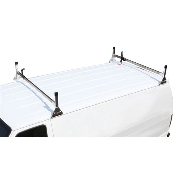 com universal aluminum w ladder bars amazon rack steel van ac racks vantech roof dp