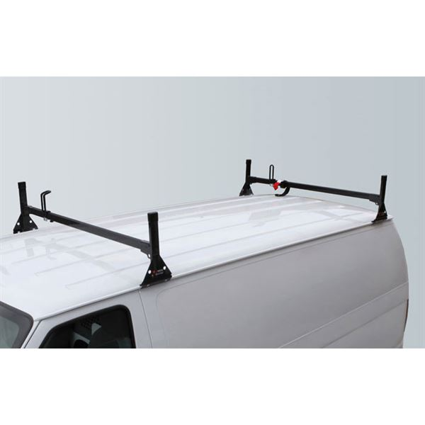 steel ramps van roof vantech discount fullsize racks rack ford econoline p