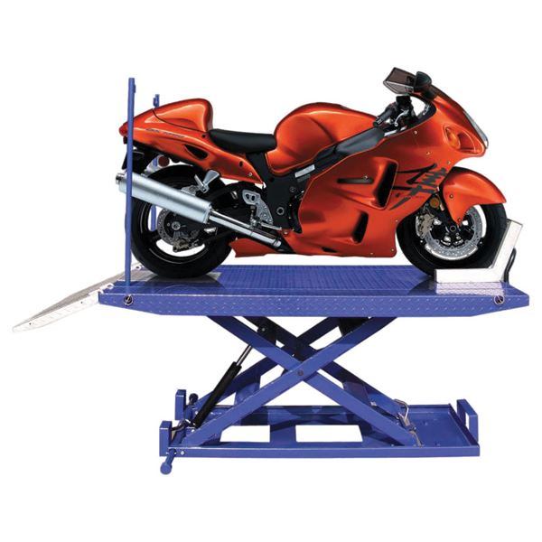 Ideal Hydraulic Motorcycle Lift Table 1 500 Lb Capacity