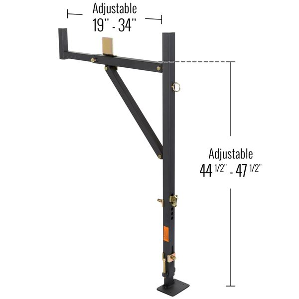 Apex No Drill Steel Ladder Rack Discount Ramps
