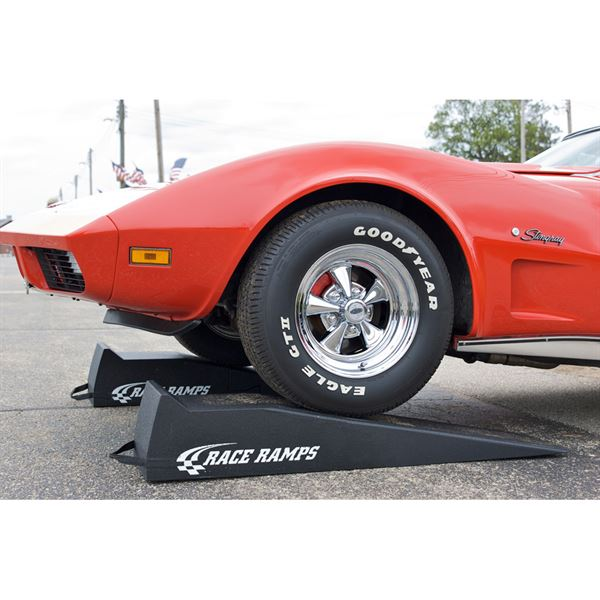 Race Ramps Solid Low Profile Car Service Ramps 3 000 Lbs