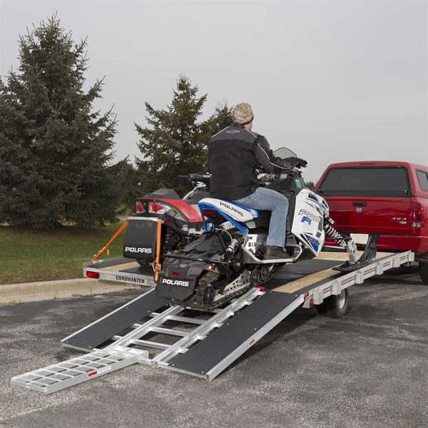 Black Ice Deluxe Double Snowmobile Trailer Accessory Kit