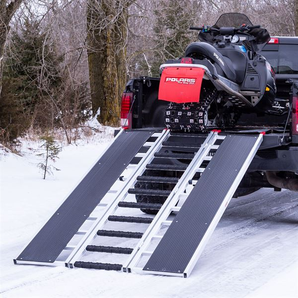 Black Ice Tri-Fold Snowmobile Ramps - 1,500 lb. Capacity ...