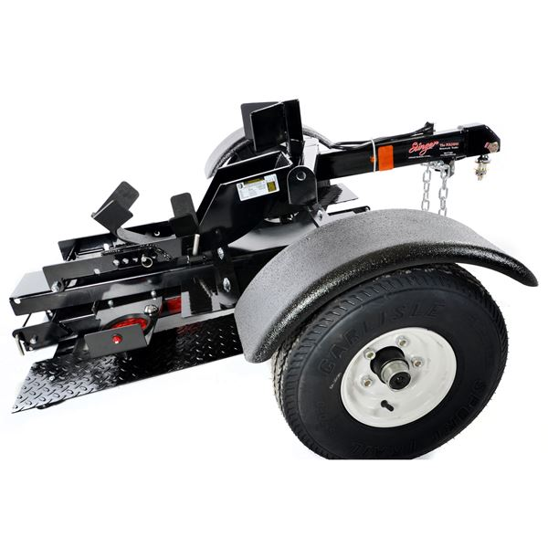 Stinger Folding Motorcycle Trailer Discount Ramps