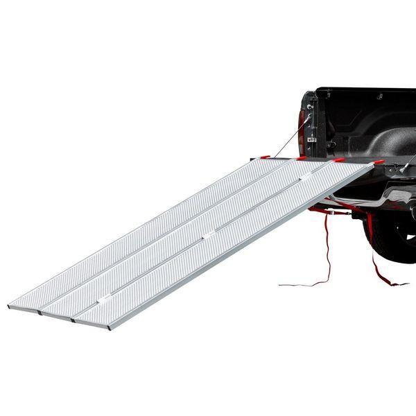 Black Widow Aluminum Extra-Wide Punch Plate Tri-Fold ATV
