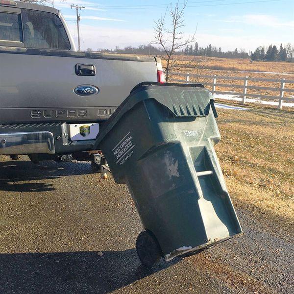 Black Tow Tuff TTF-DD Dumpster Dolly