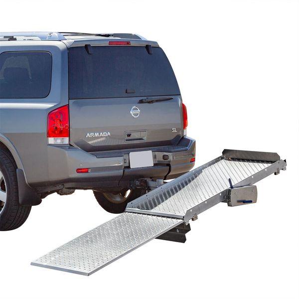 Tilt A Rack Premium Aluminum Scooter And Wheelchair