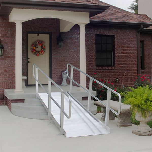 PVI OnTrac Wheelchair Access Ramp with Handrails - 850 lbs ...