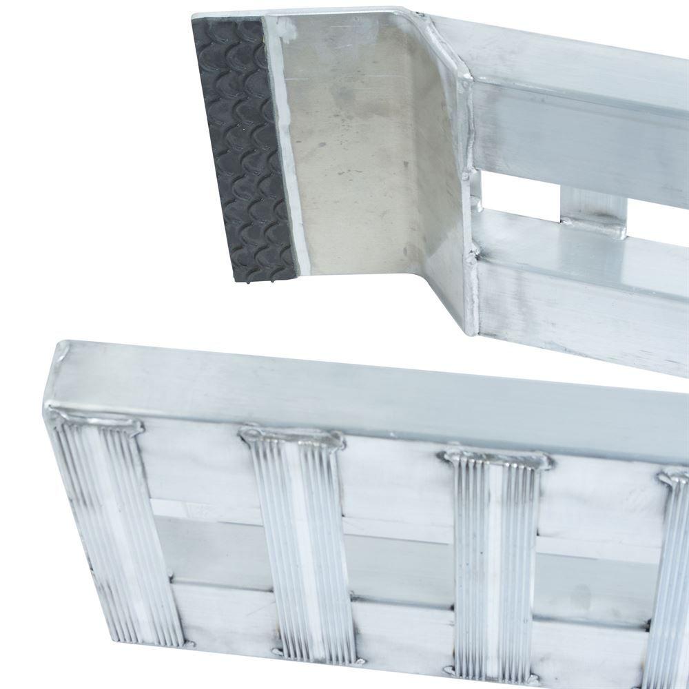 02-12-144 Aluminum Folding Smart Car Trailer Ramps - 2000 lb per axle Capacity 4