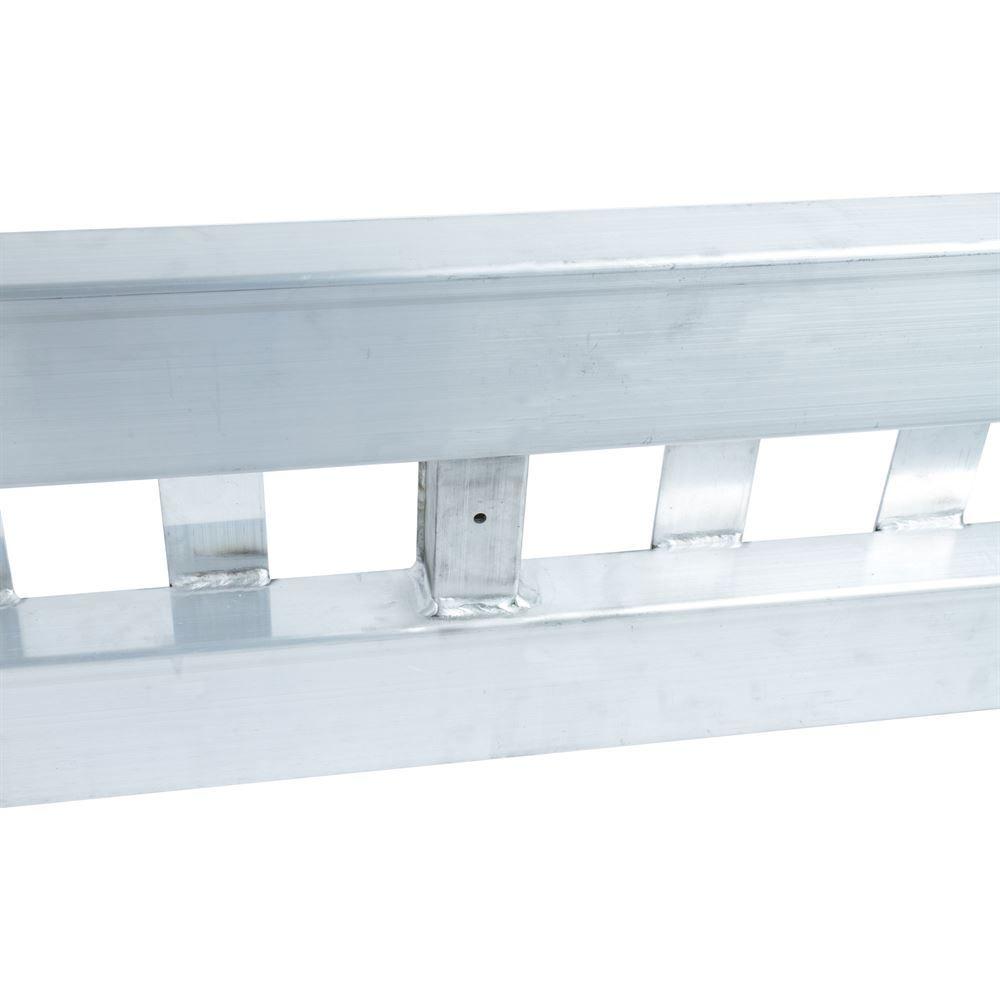 02-12-144 Aluminum Folding Smart Car Trailer Ramps - 2000 lb per axle Capacity 5