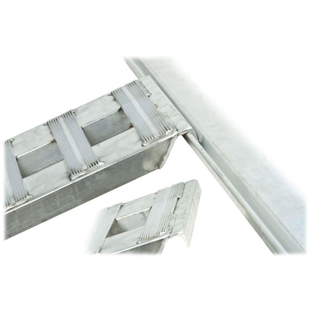 02-12-144 Aluminum Folding Smart Car Trailer Ramps - 2000 lb per axle Capacity 6