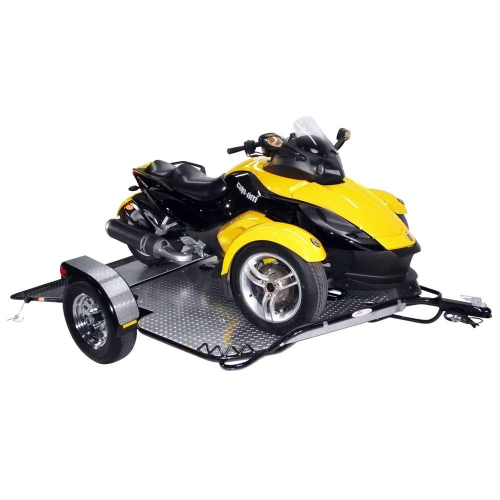 03-SST2200-02 Drop-Tail Powersport Utility  Trike Trailer - 2100 lb Capacity