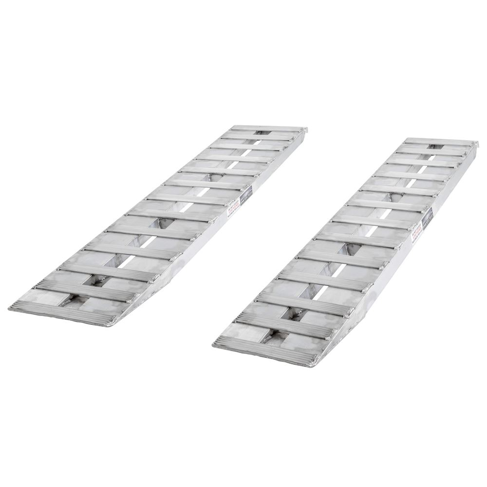 05-15-072-04-HD 6 L x 15 W Aluminum Hook End Car Trailer Ramps - 5000 lb per axle Capacity