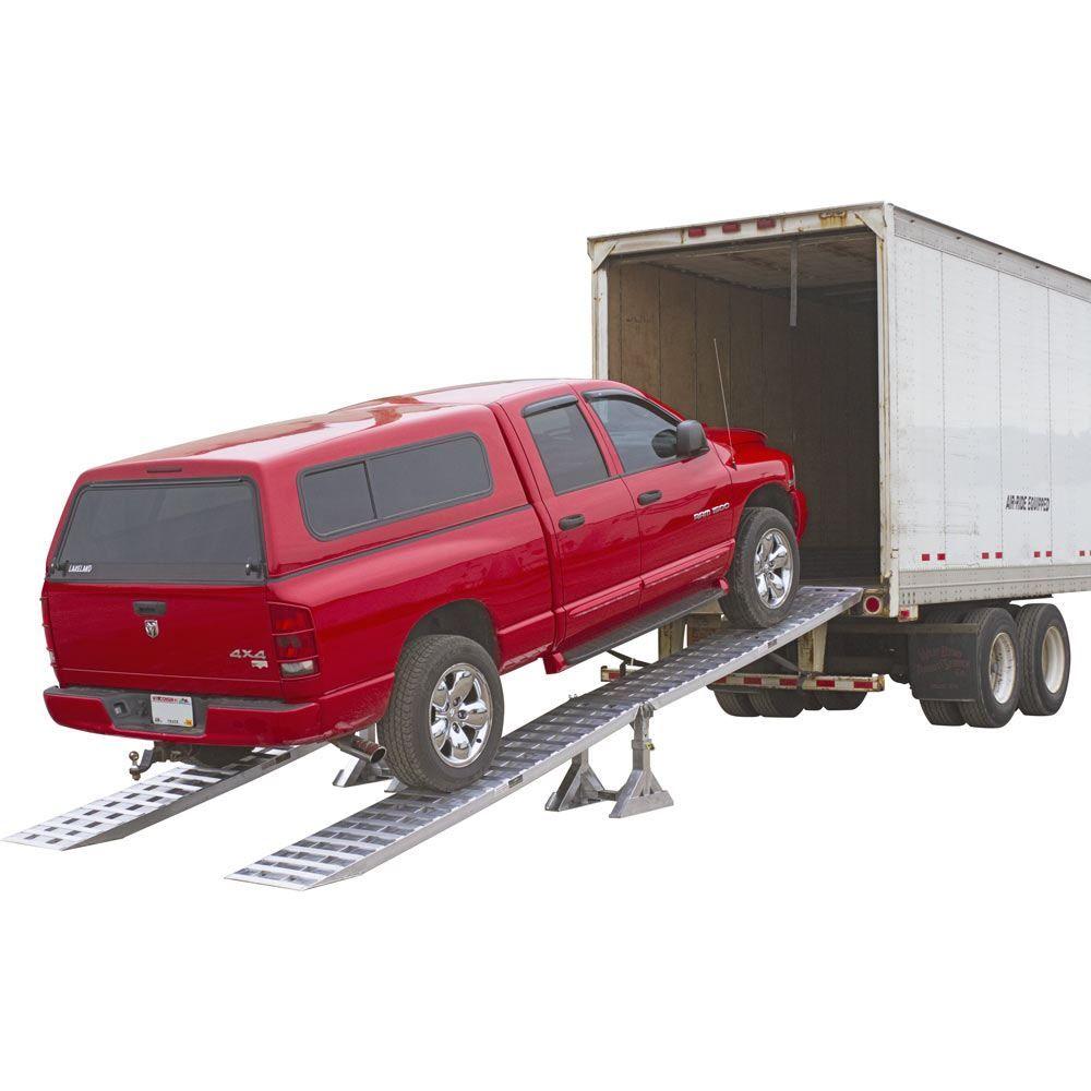 05-20-240 Aluminum Modular Truck Trailer Ramp System for Dry Van - 5000 lb per axle Capacity