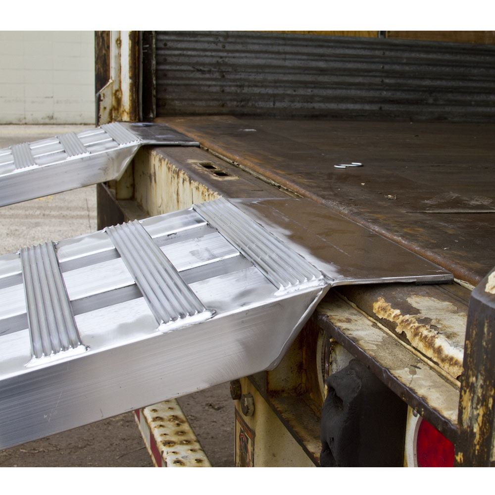 05-20-240 Aluminum Modular Truck Trailer Ramp System for Dry Van - 5000 lb per axle Capacity 4