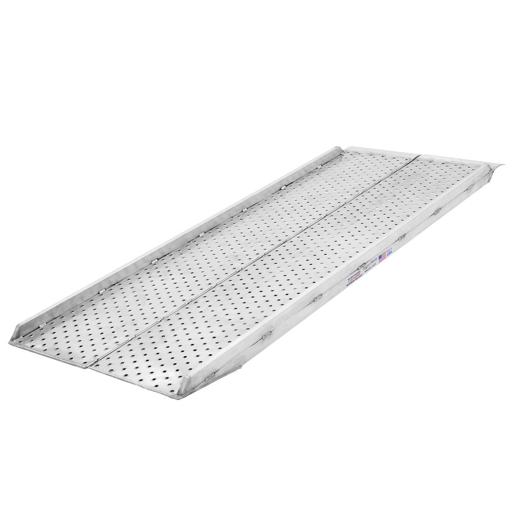 05-34-096-06C-P 8 x 37 Plate-End Scissor Lift Ramp