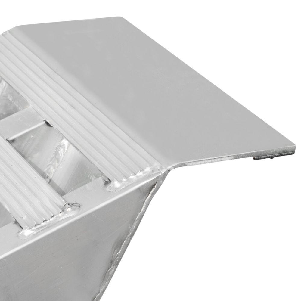 05-TTRAMP-FLAT Aluminum Plate End Car Trailer Ramps - 5000 lb per axle Capacity 3