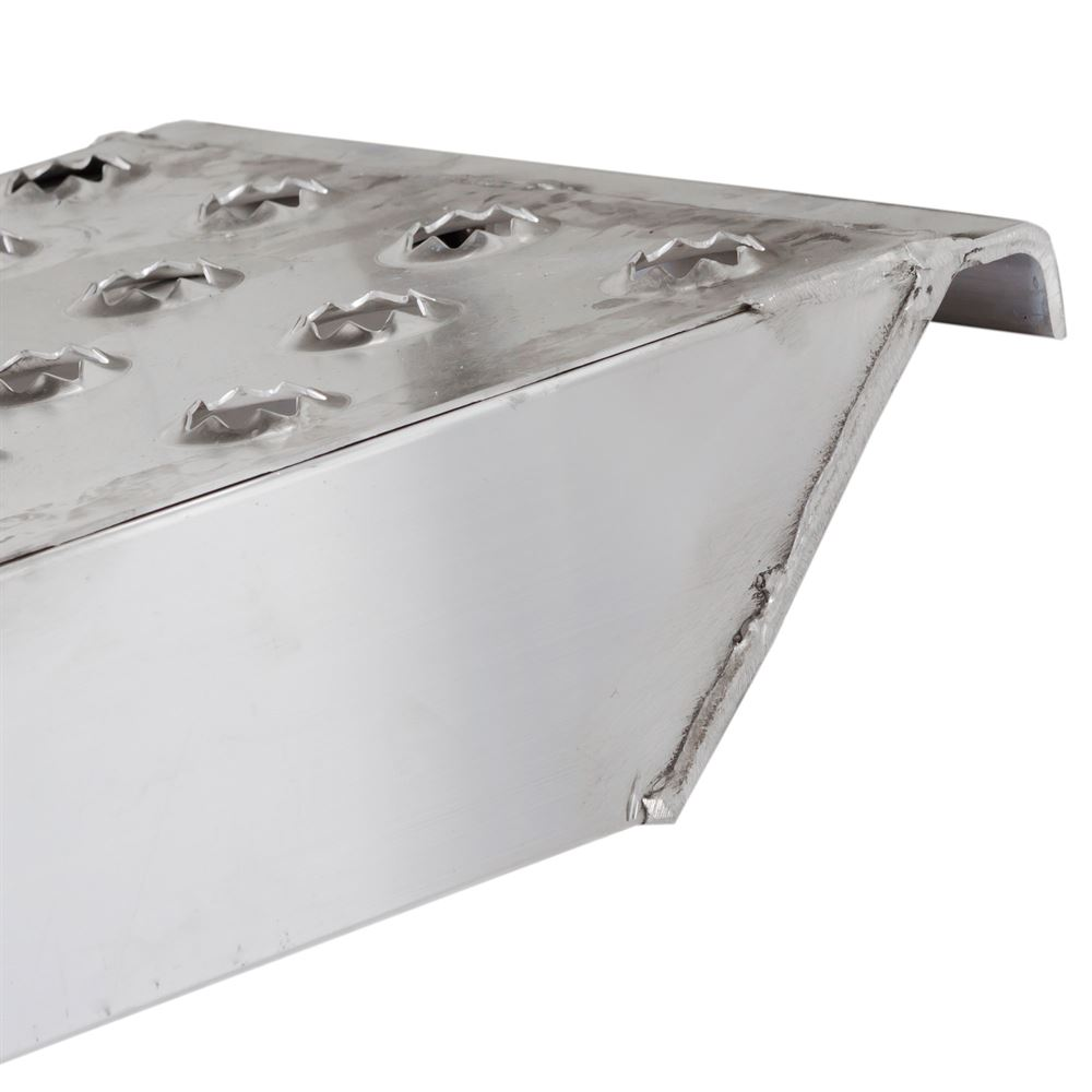05-TTRAMP-HOOK-PP EZ Traction Hook End Aluminum Car Trailer Ramps - 5000 lb per axle Capacity 3