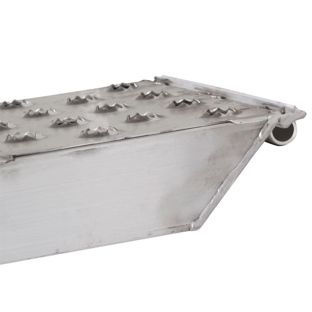 05-TTRAMP-PIN-PP EZ Traction Pin-On End Aluminum Car Trailer Ramps - 5000 lb per axle Capacity 1
