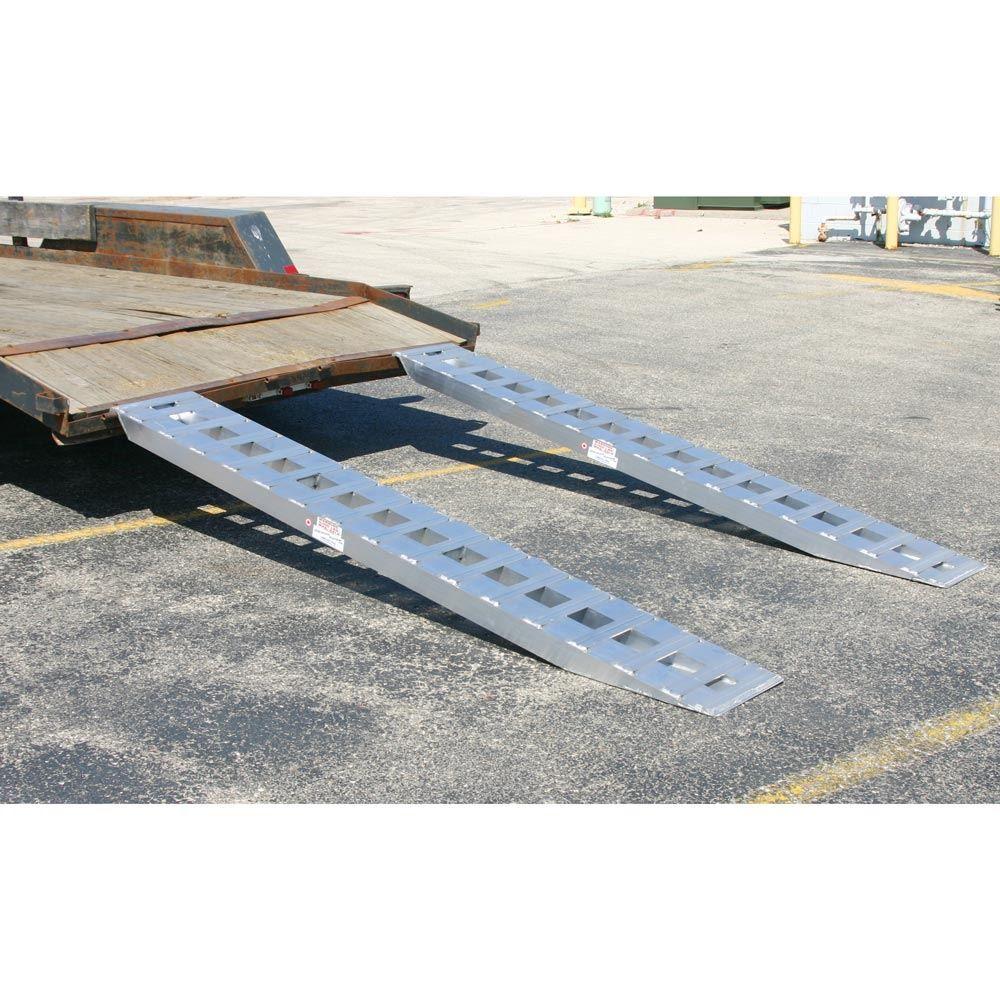 05-TTRAMP-PIN Aluminum Pin-On End Car Trailer Ramps - 5000 lb per axle Capacity 2