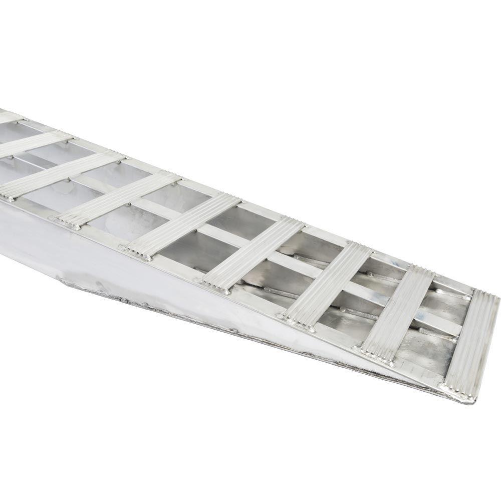 05-TTRAMP-PIN Aluminum Pin-On End Car Trailer Ramps - 5000 lb per axle Capacity 6
