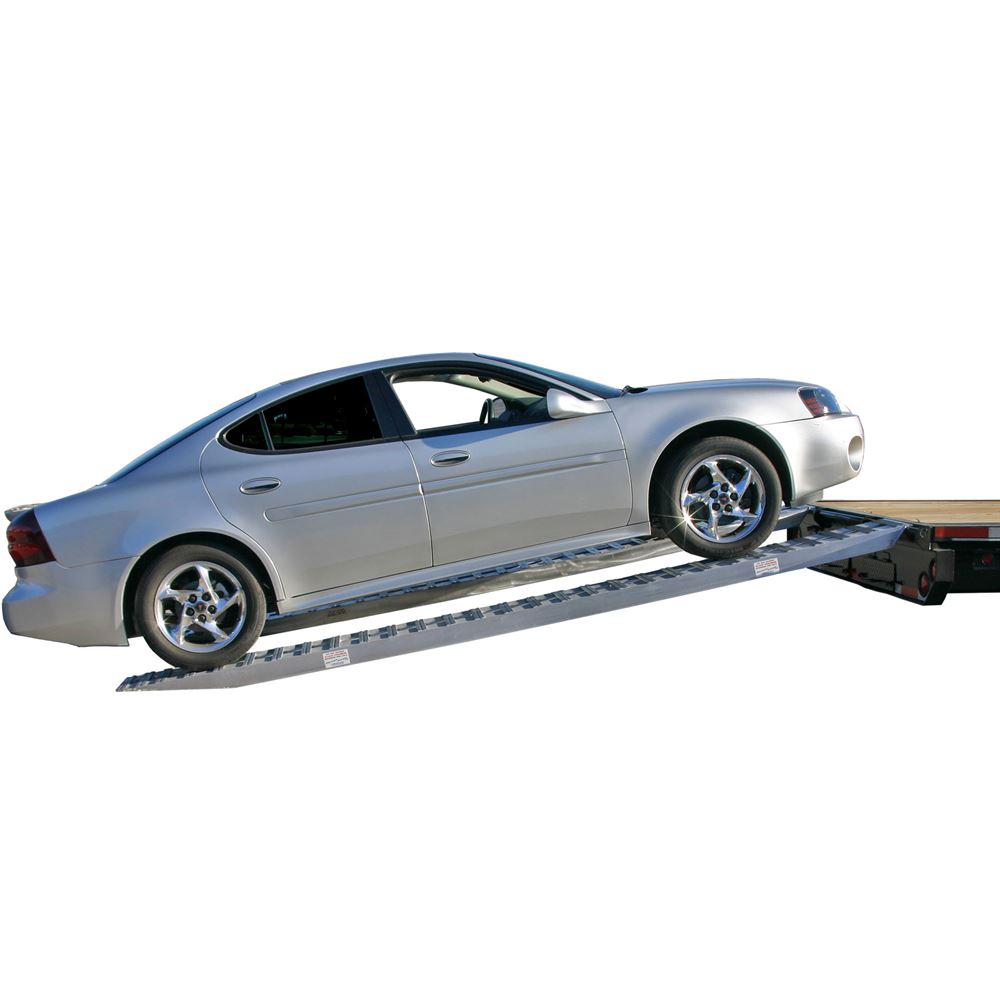 10-14-090-02-S 7 6 L x 14 W x 4-14 H Aluminum Ramps with Pin-On Ends - 10000 per axle Capacity 2