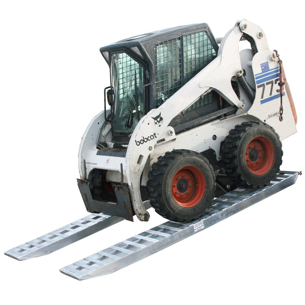 Skid Steer Axles : Quot pin on end heavy equipment ramps lb per