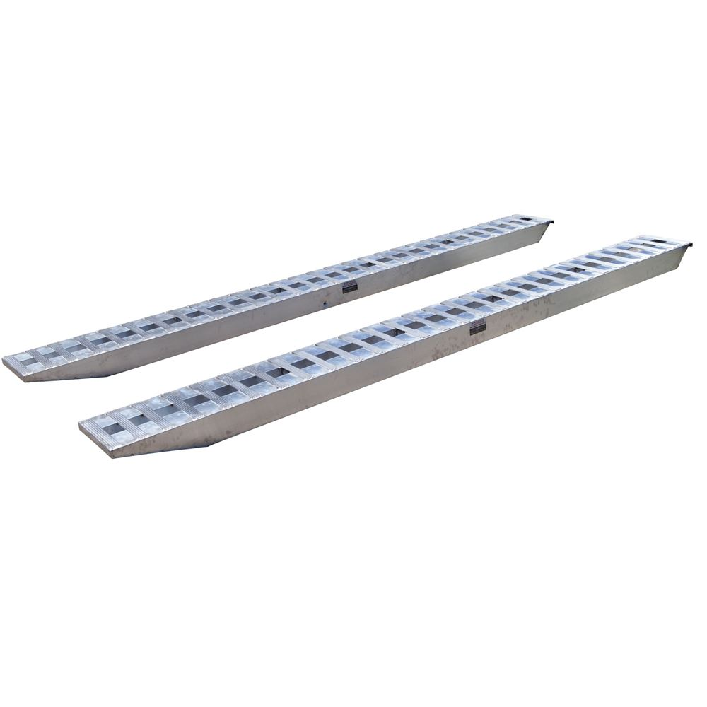 10-16-168-05-S 14 x 16 Hook-End Heavy Equipment Ramps - 10000-lb per axle Capacity