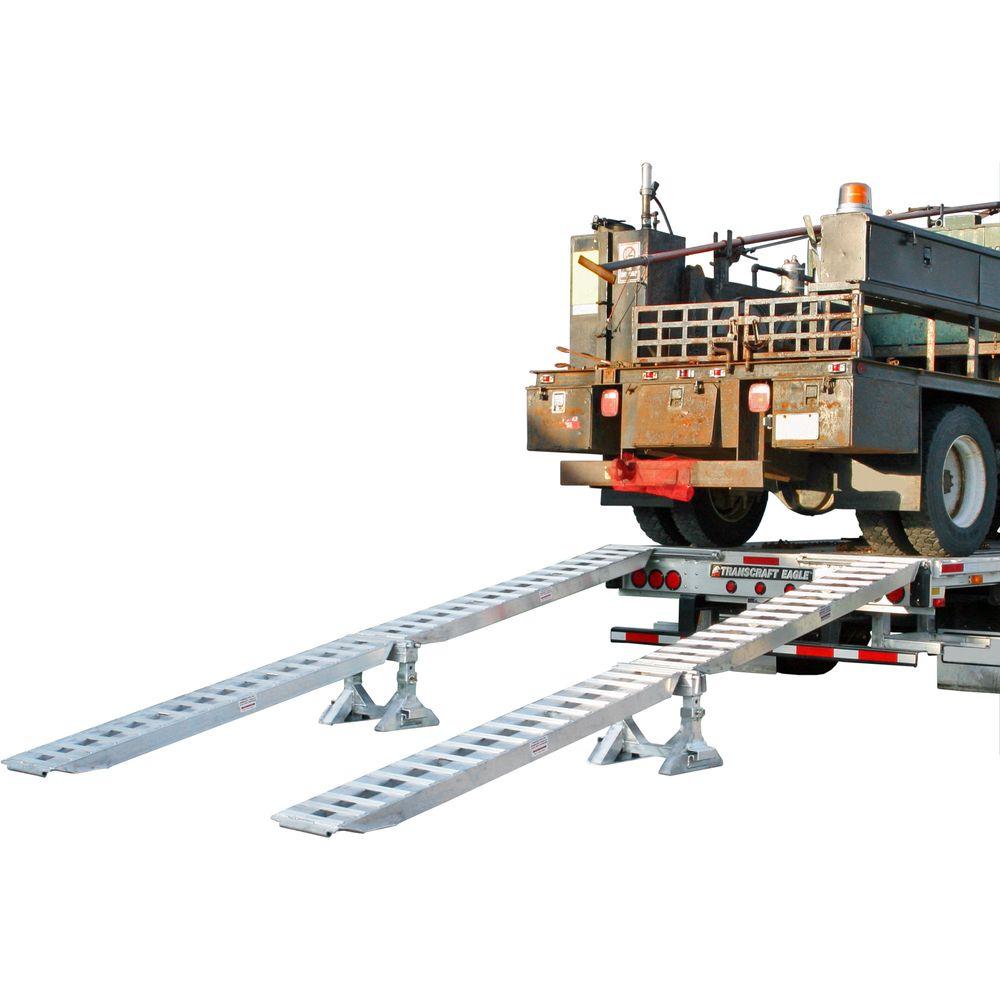 10-16-192-02-02M-S 10000 lb Step Deck Trailer Ramp Kit
