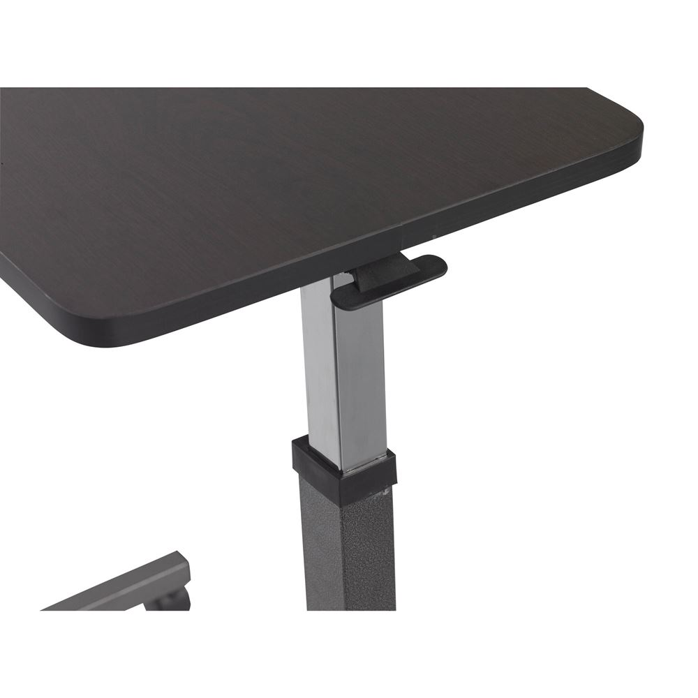 Drive Medical Silver Vein Non Tilt Top Overbed Table
