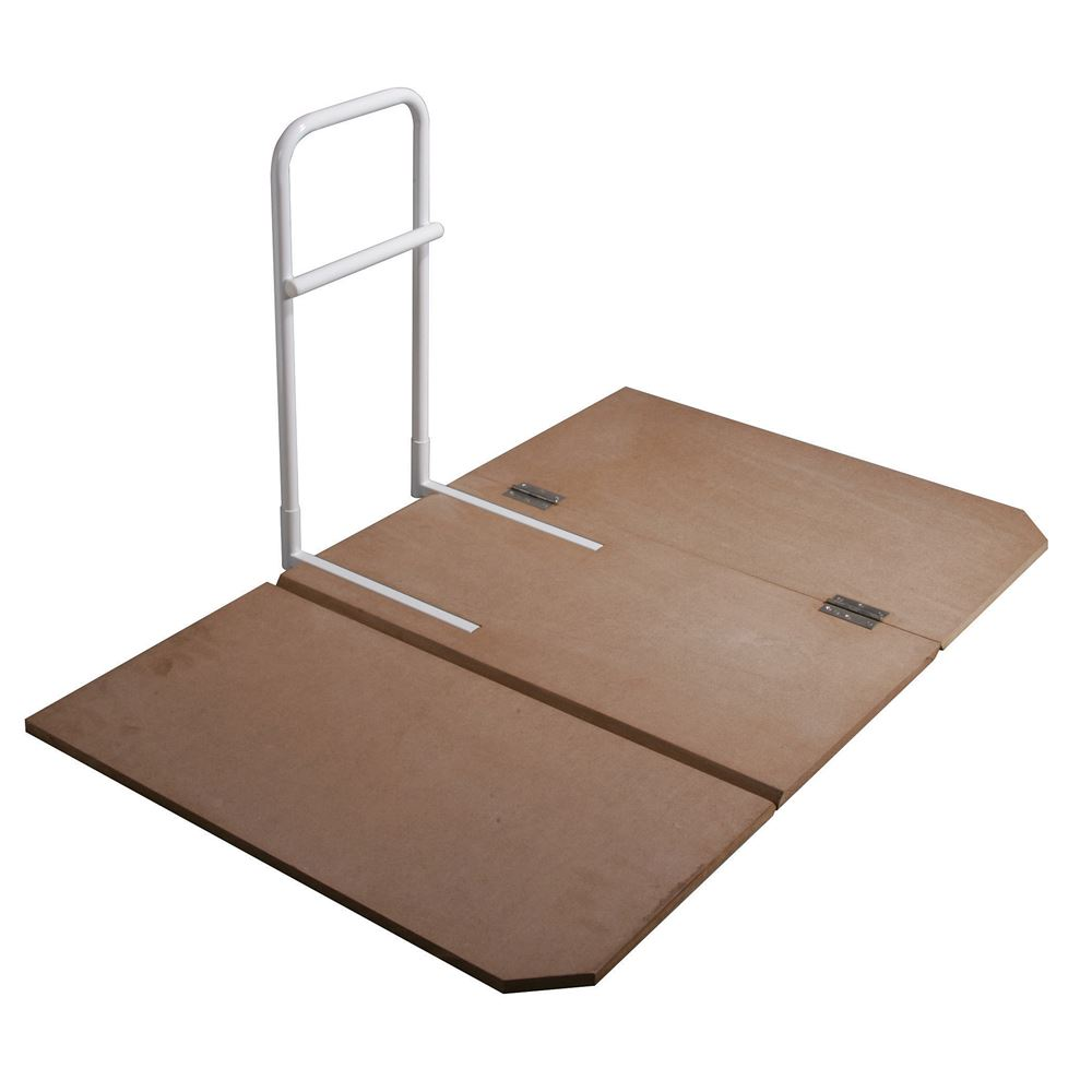 15062D Drive Medical Home Bed Assist Grab Rail with Bed Board