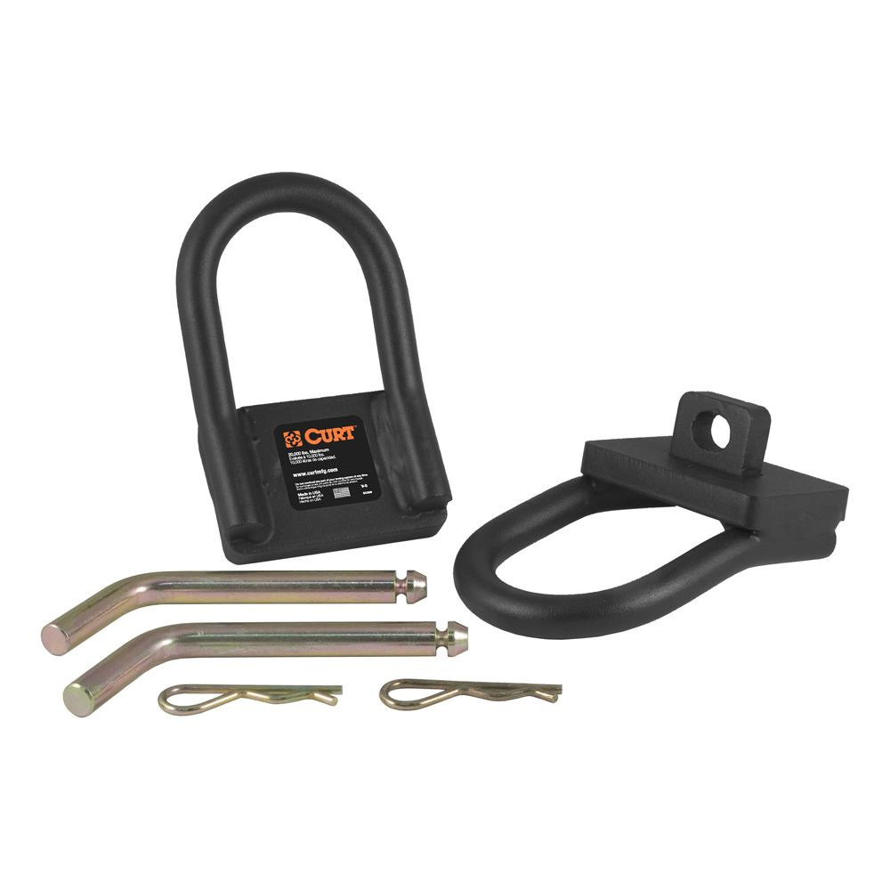 16000 Curt 16000 Fifth Wheel Safety Chain Loop Kit