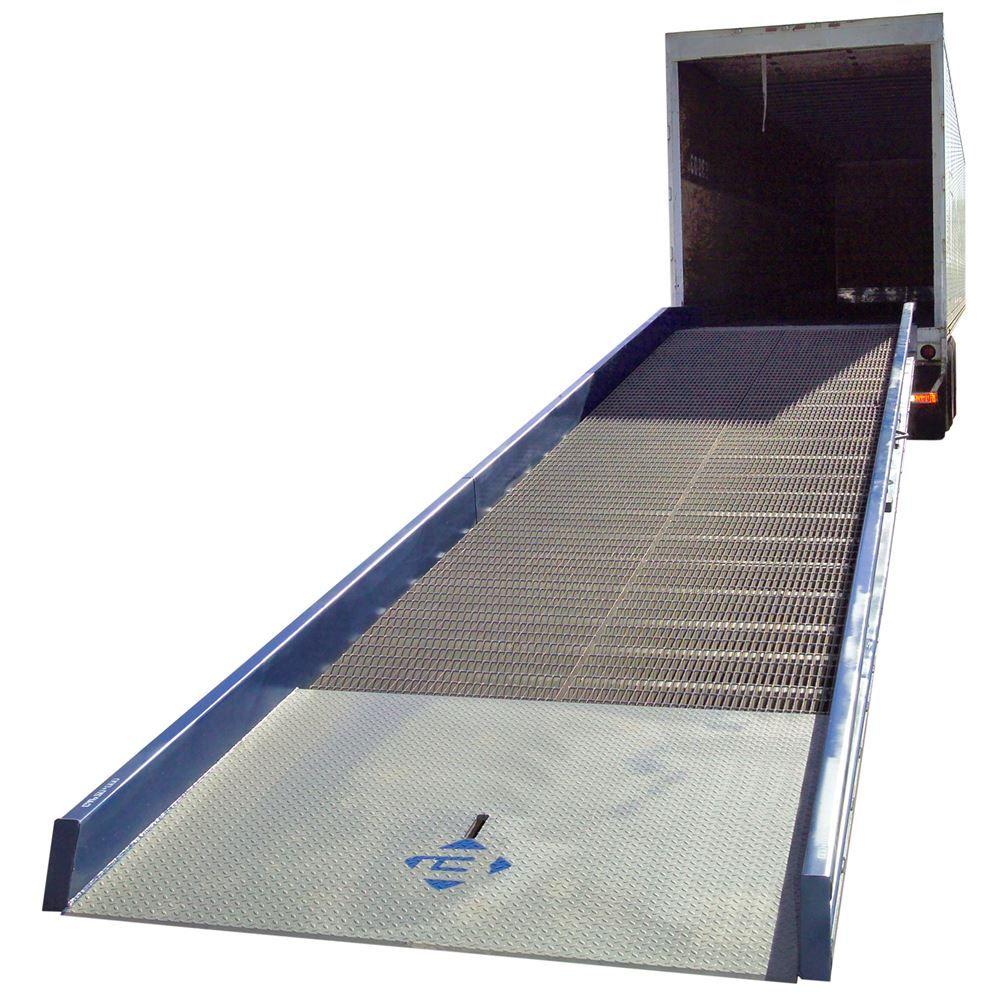 16SYS8430 30 L x 84 W 16000 lb Capacity Bluff Steel Yard Ramp