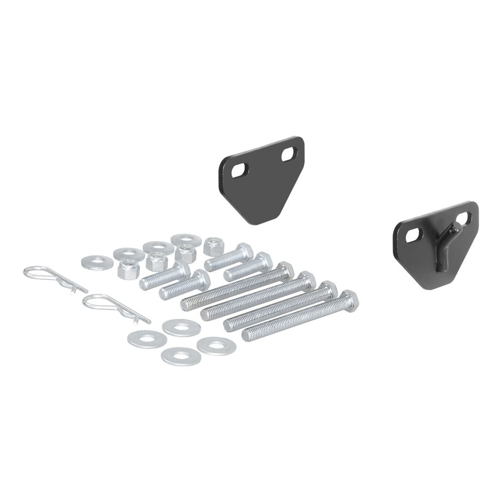 17005 Curt 17005 Weight Distribution Hook-Up Bracket Kit for Bolt-On Chain Hangers